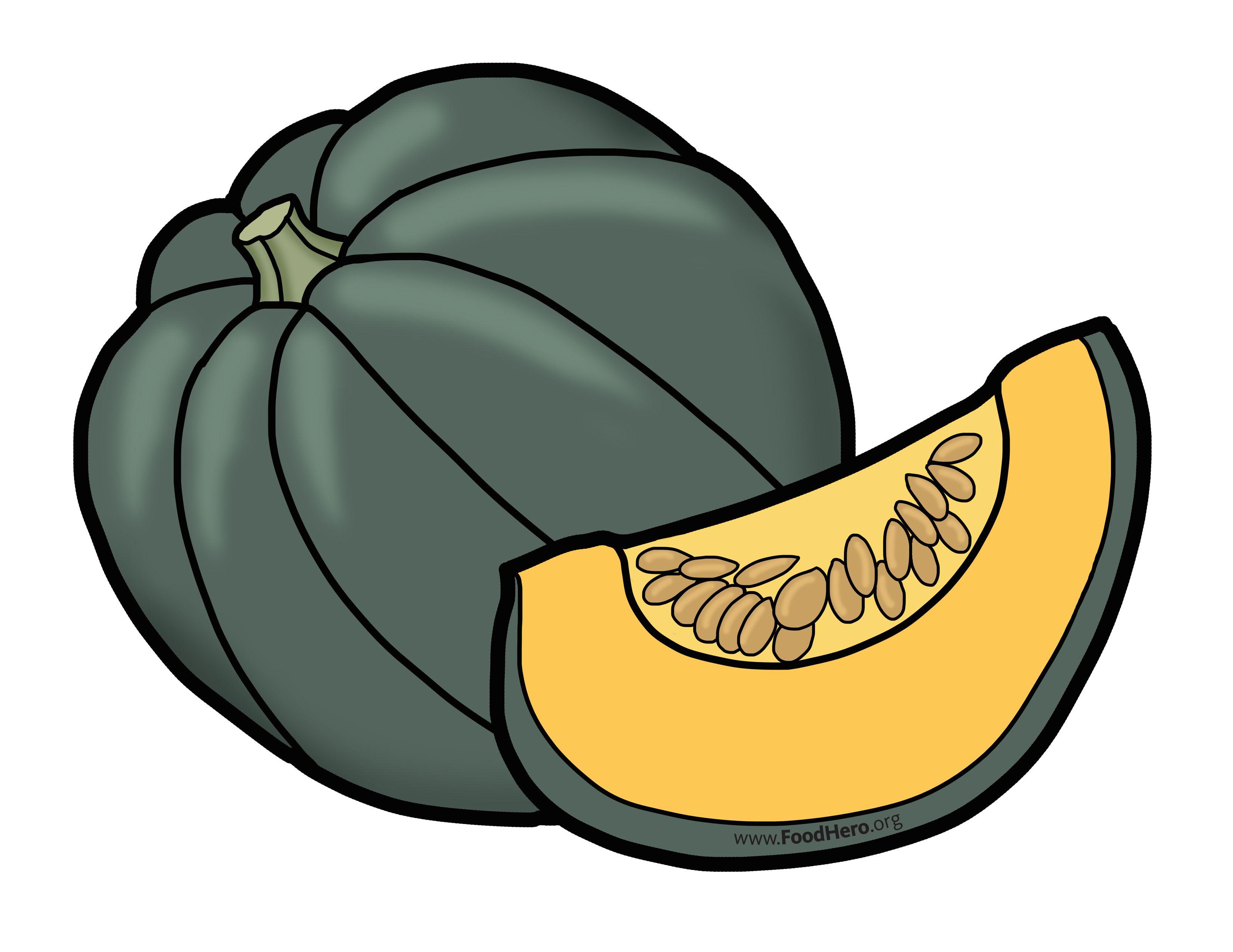 Illustration found at foodhero.org. #schoolart #acornsquash.