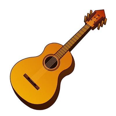 Acoustic Clipart.