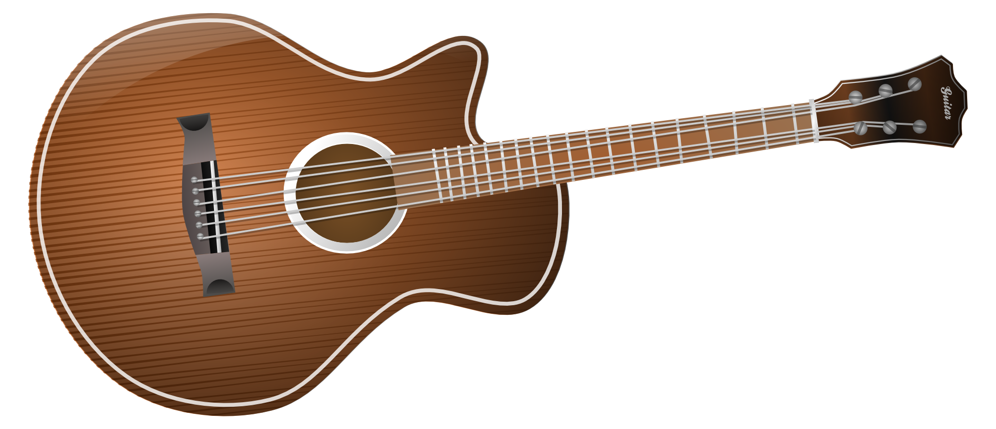 acoustic guitar clipart clipground