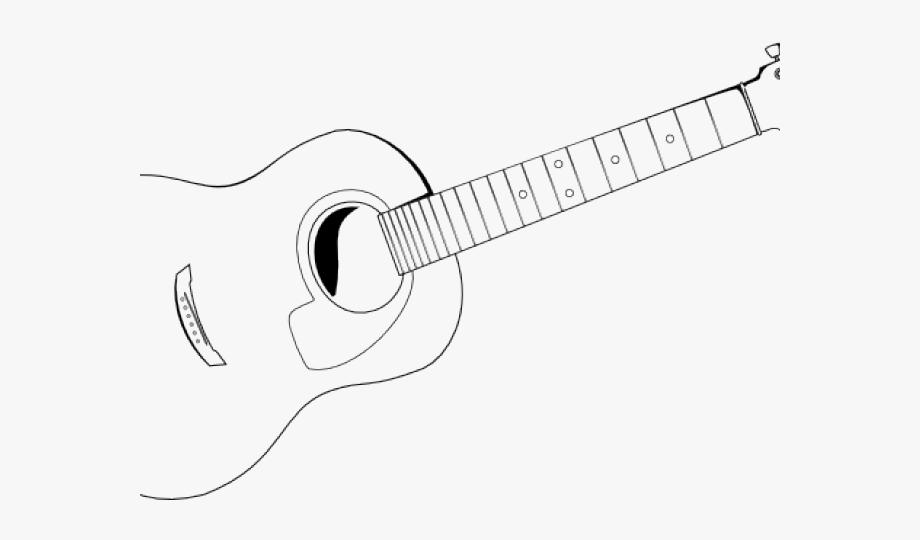 Guitar Clipart Sketch.
