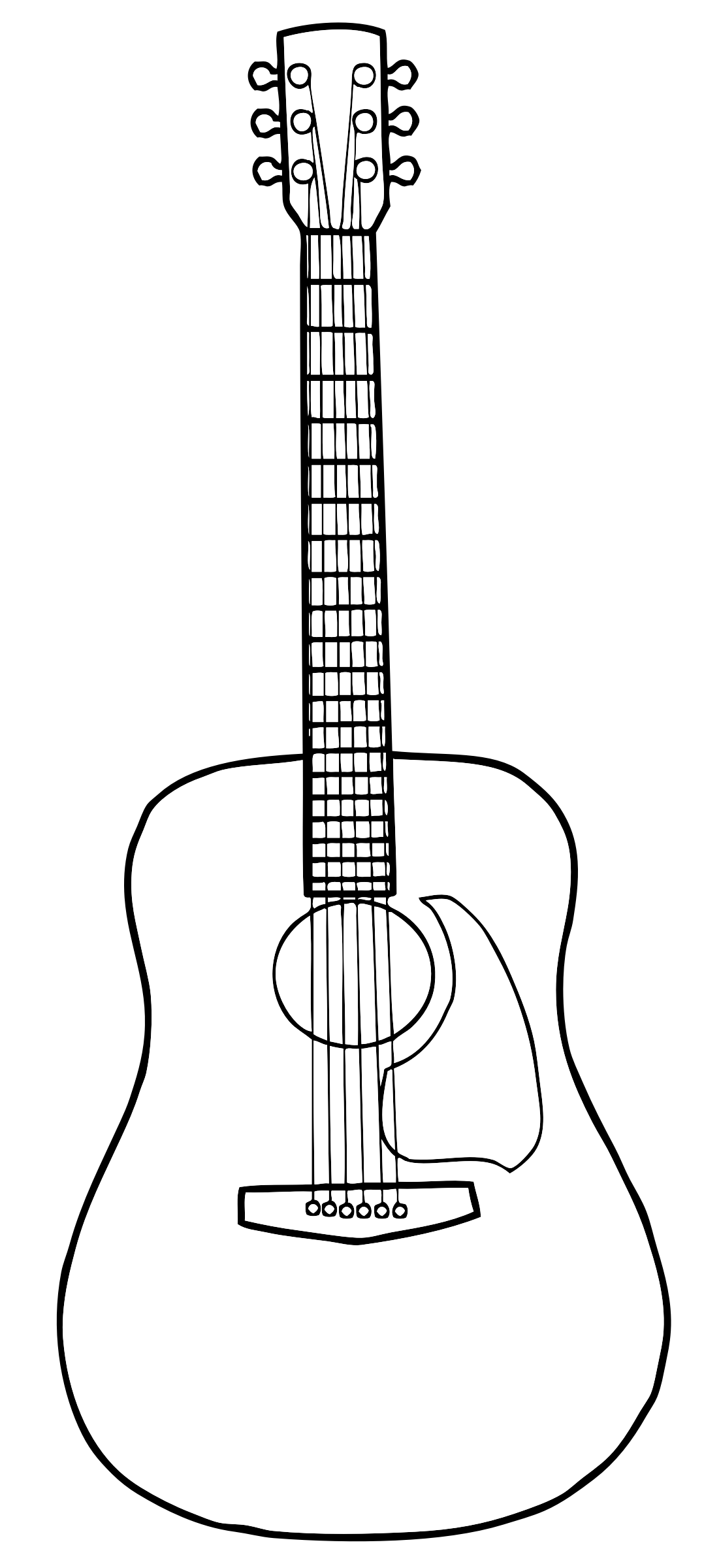 Free Guitar Outline Cliparts, Download Free Clip Art, Free.