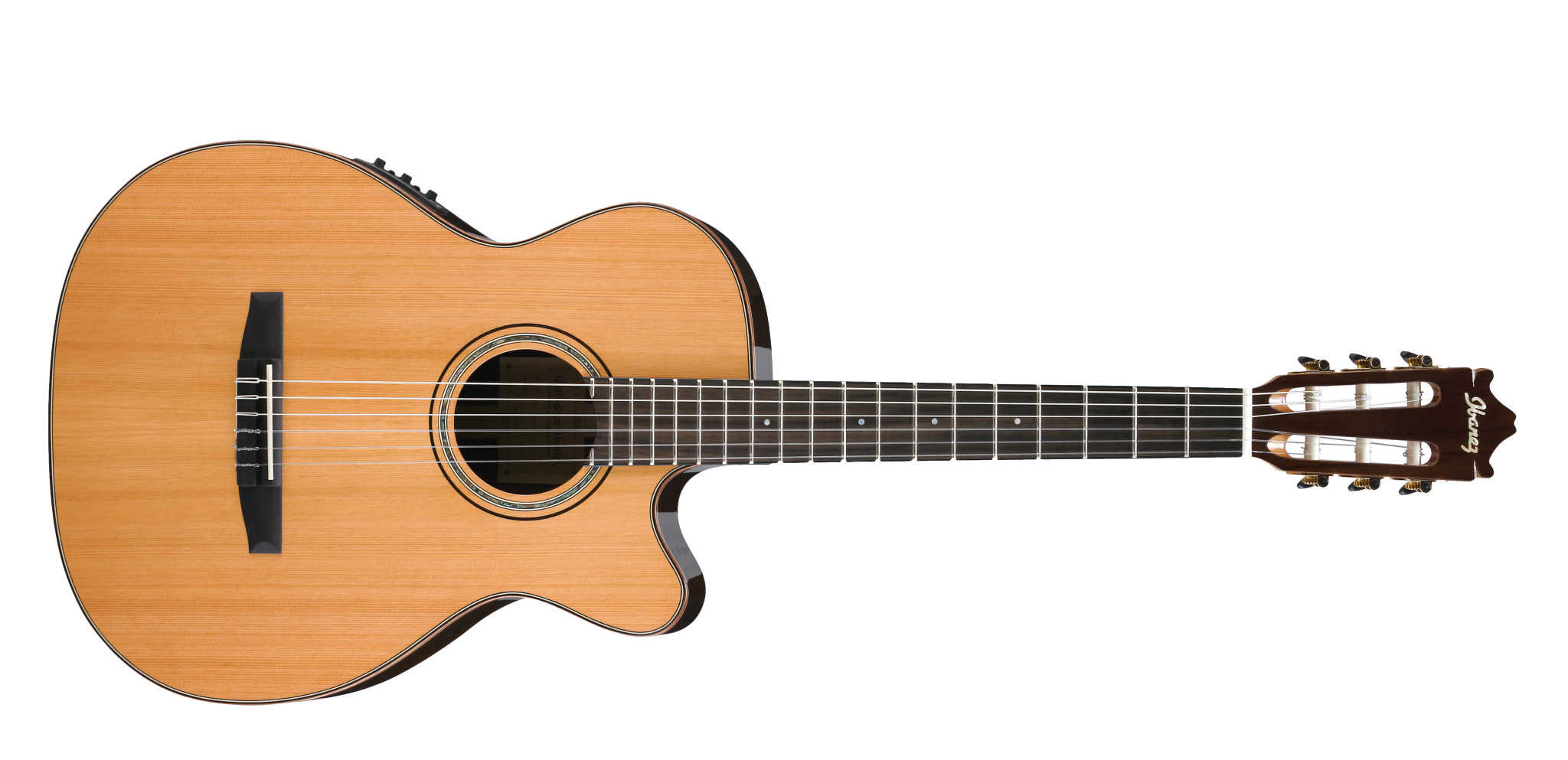 Acoustic Classic Guitar PNG Image.