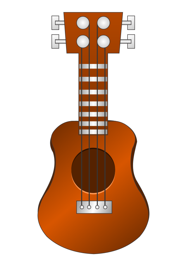 Acoustic Guitar Clipart, vector clip art online, royalty free.