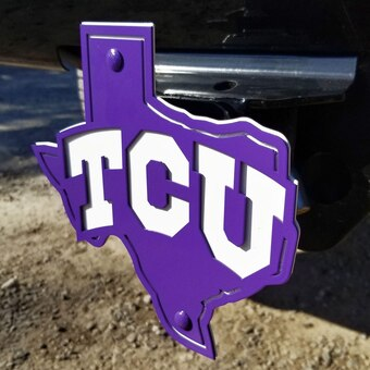 TCU Horned Frogs Hitch Covers, Horned Frogs Trailer Hitch.