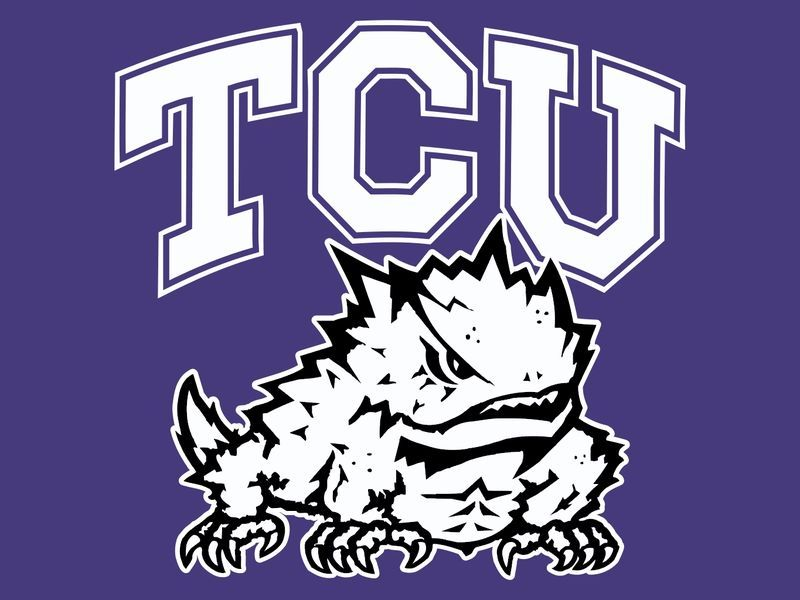 TCU Horned Frogs Clipart.