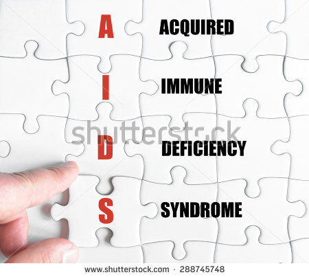 Acquired Immune Deficiency Syndrome Clip Art.