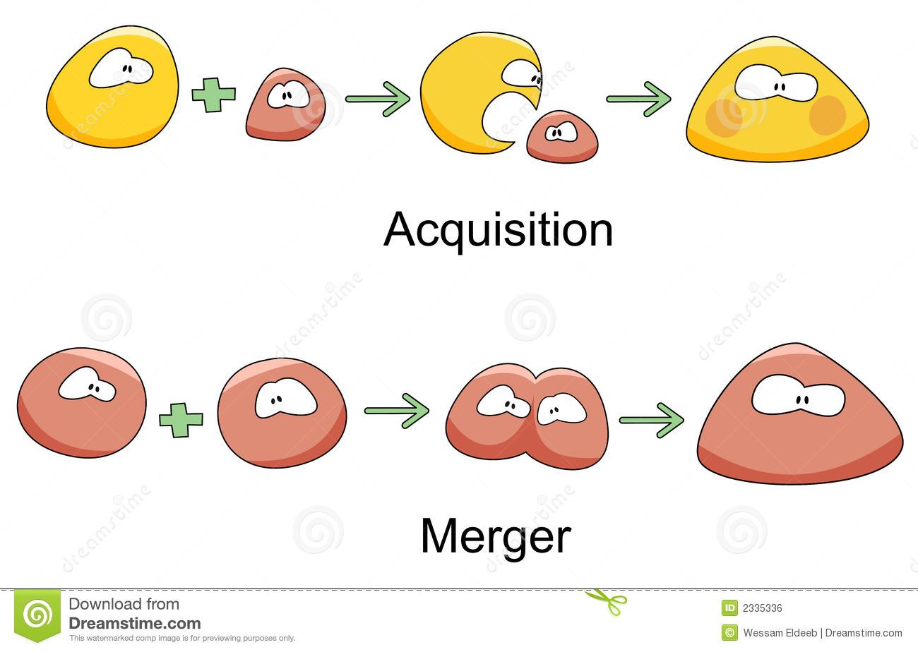 Acquisition Stock Illustrations.