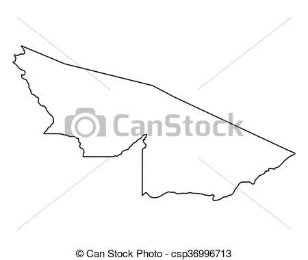 Vector Clip Art of Map of Acre csp36996713.