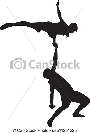Acrobatics Stock Illustration Images. 2,690 Acrobatics.