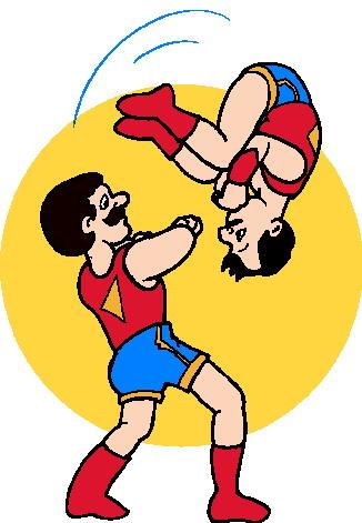 Acrobats Clip Art.