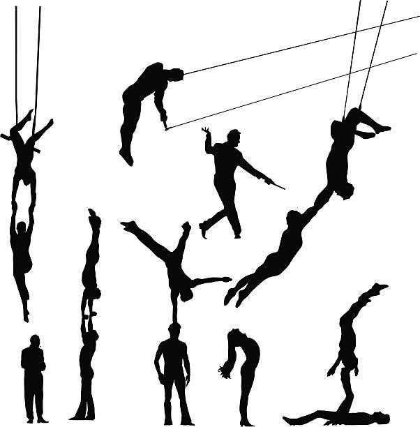 Best Acrobatics Illustrations, Royalty.