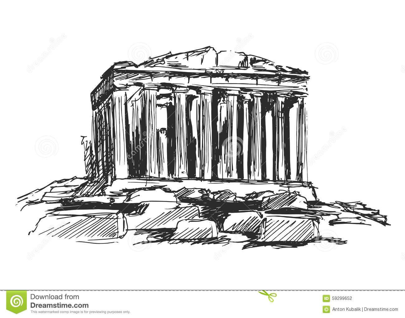 Acropolis Stock Illustrations.