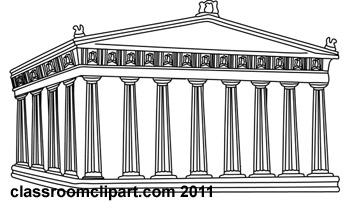 Acropolis clipart.