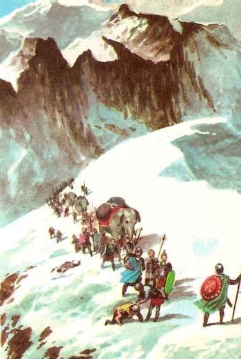 Across the alps clipart #6
