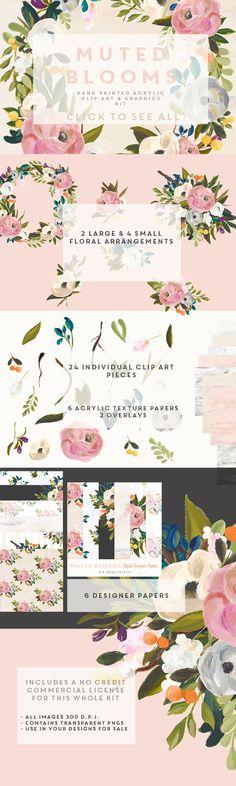 Acrylics, Clip art and Art on Pinterest.
