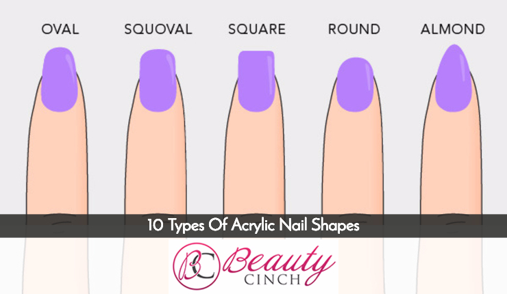acrylic nail shapes #12
