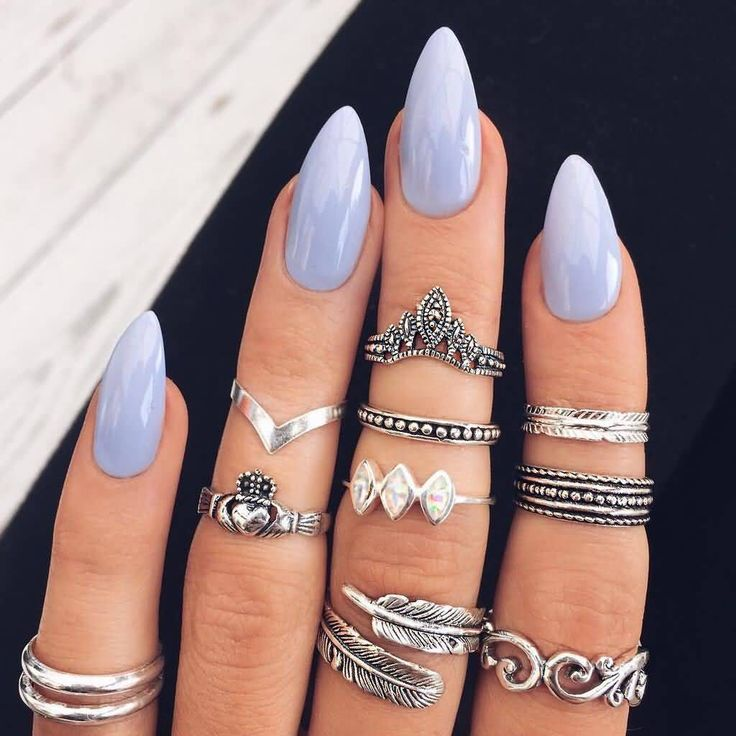 17 Best Ideas About Acrylic Nail Shapes On Pinterest