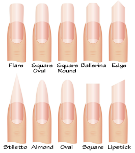 Acrylic nail shapes clipground for Square narrow shape acrylic