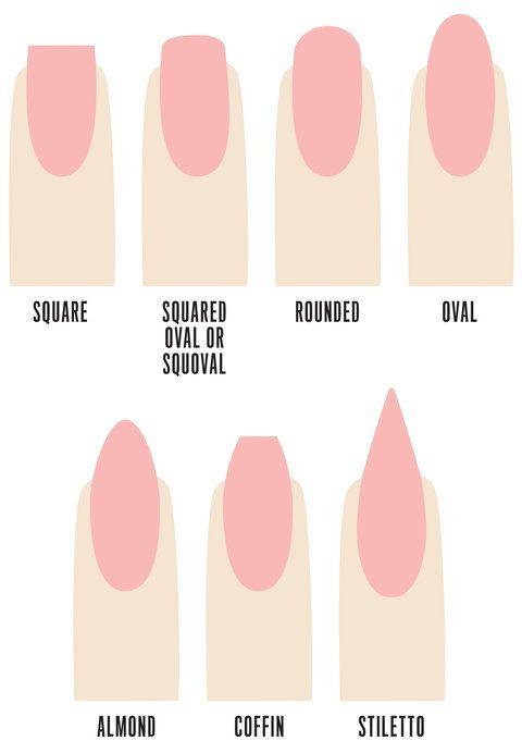 acrylic nail shapes #2
