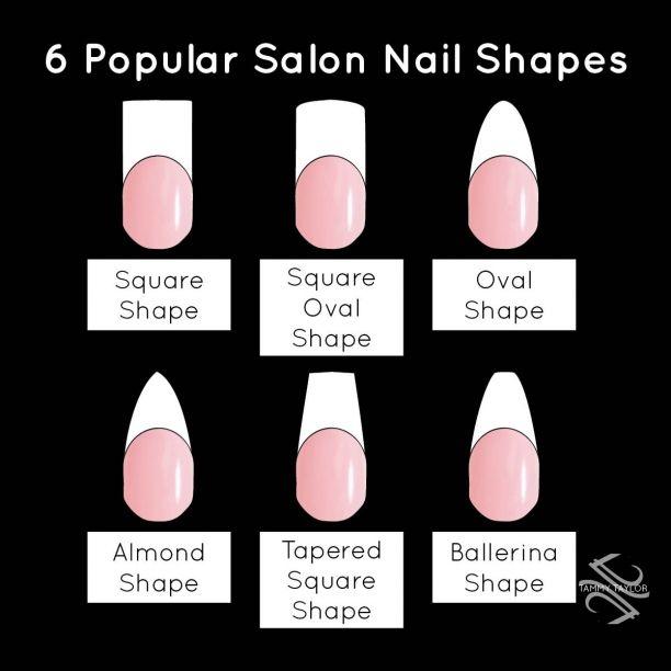 acrylic nail shapes #3