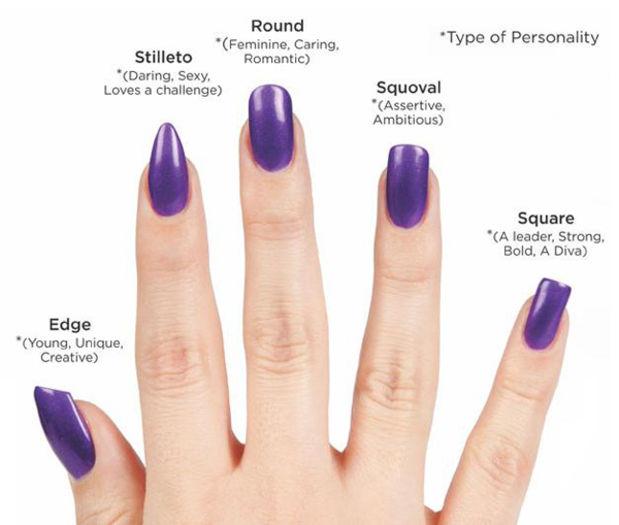 acrylic nail shapes #7
