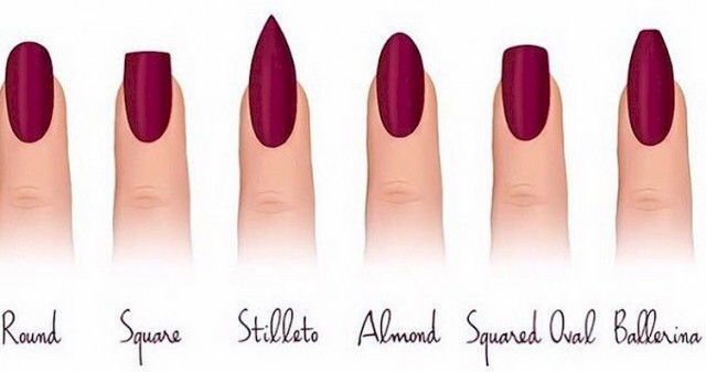 Top 45 Incredible Acrylic Nail Shapes.