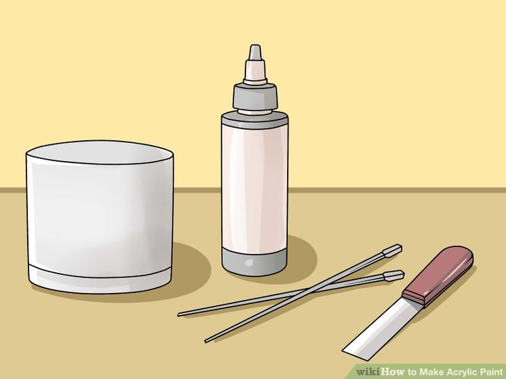 How to Make Acrylic Paint: 10 Steps (with Pictures).