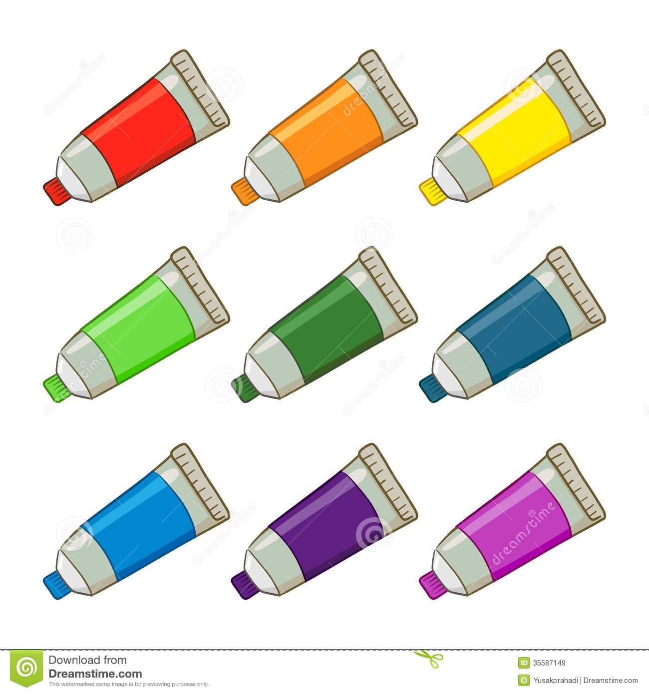 paint tube.