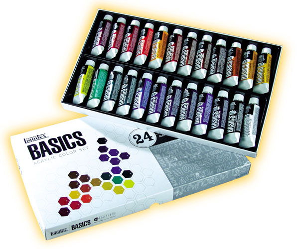Acrylic Paint Set.