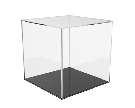 Acrylic Cube with Colour Base.