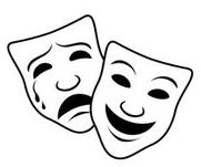 One Act Play Clipart.