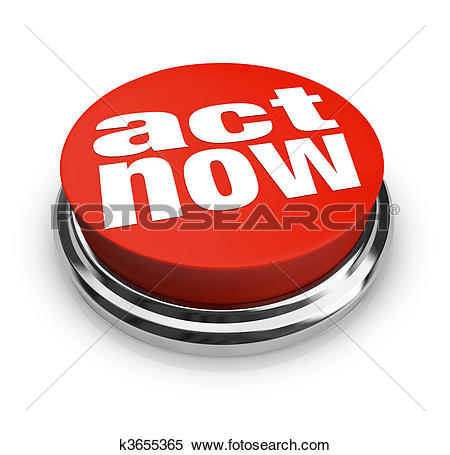Stock Illustration of Act Now.