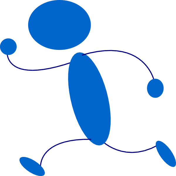 Download Person Running Clipart.