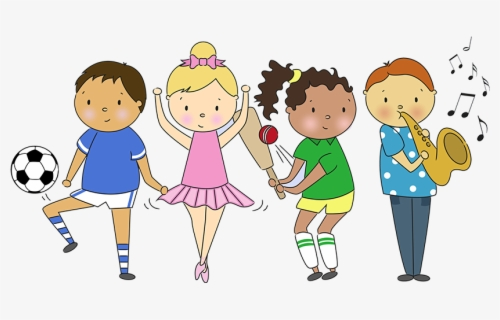 Free Activity Clip Art with No Background.