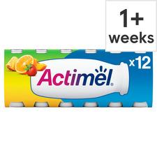Danone Actimel Multifruit Drink 12X100g.