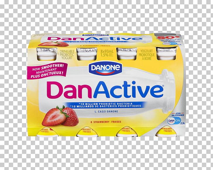 Actimel Probiotic Milk Yoghurt Danone, Frozen Non Veg PNG.