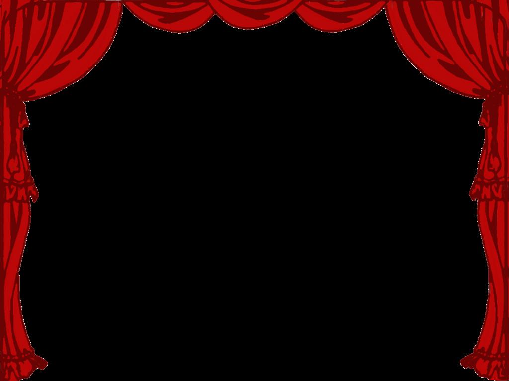 Theatre Borders Clipart.