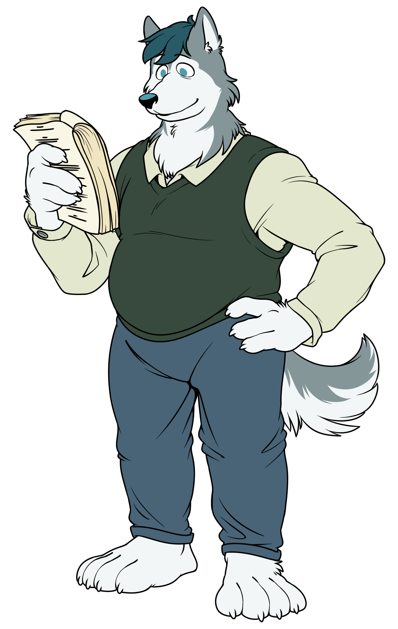 Husky Actor by SilverScarf.