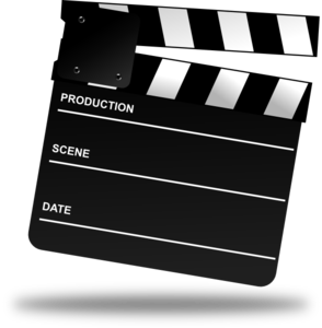 Movie Clapper Board Clip Art at Clker.com.