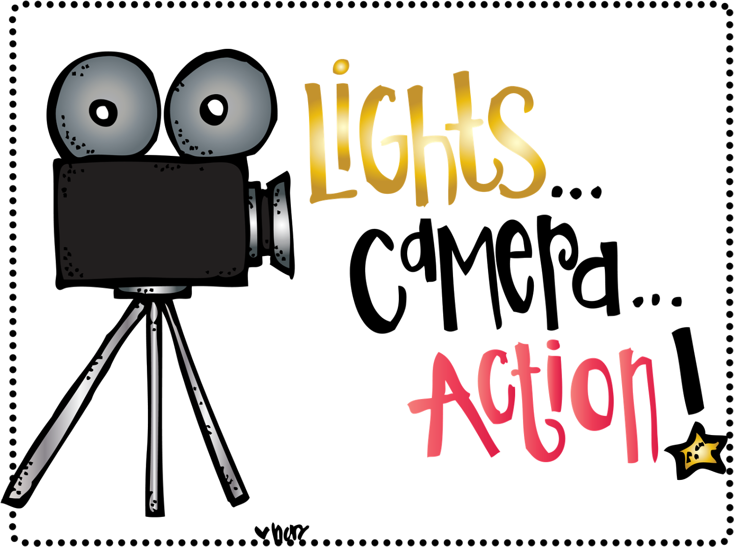 Hollywood Action Cliparts Free Download Clip Art.