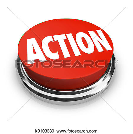 Clipart of Action plan concept. k9795931.