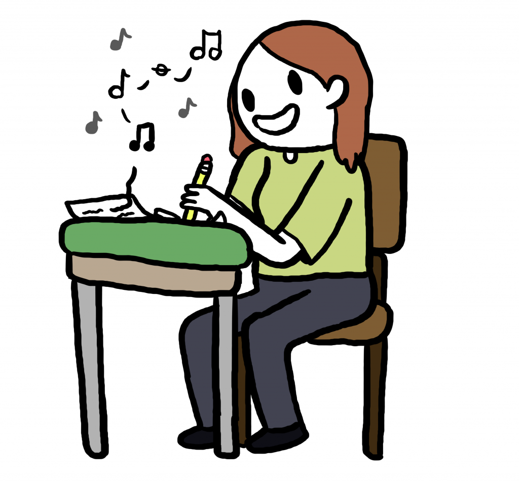 Music For Essay Writing Clipart Example Service Best Papers.