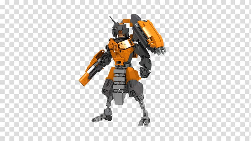 Warframe LEGO Mecha Bionicle Toy, action figures transparent.