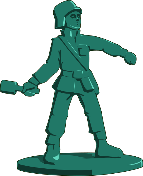 Action figure clip art.