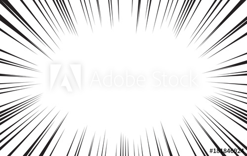 comic radial speed lines vector background wallpaper.