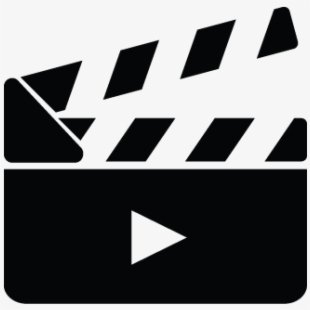 Movie Maker, Film, Movie, Camera Action Cut Icon.