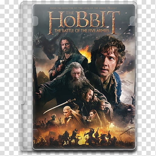 Movie Icon Mega , The Hobbit, The Battle of the Five Armies.