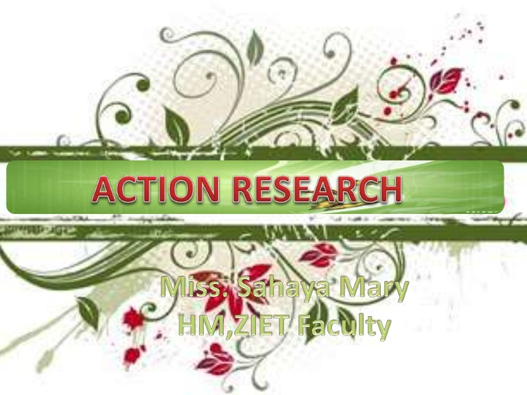 Action research.
