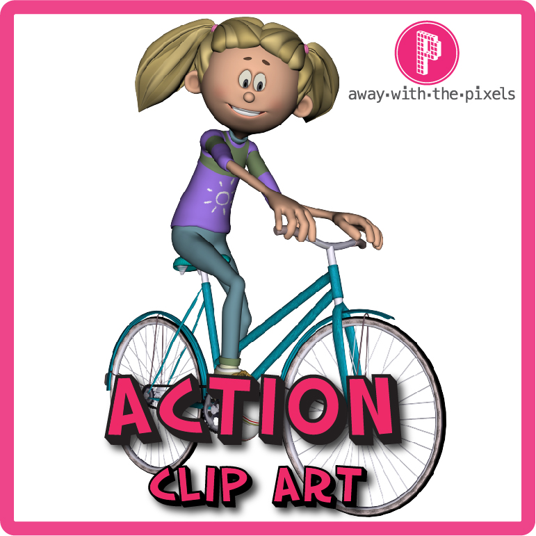 Action Word Clipart.