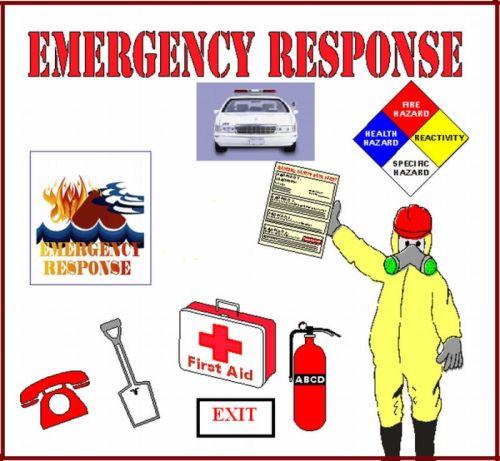 Emergency Plan Clipart.